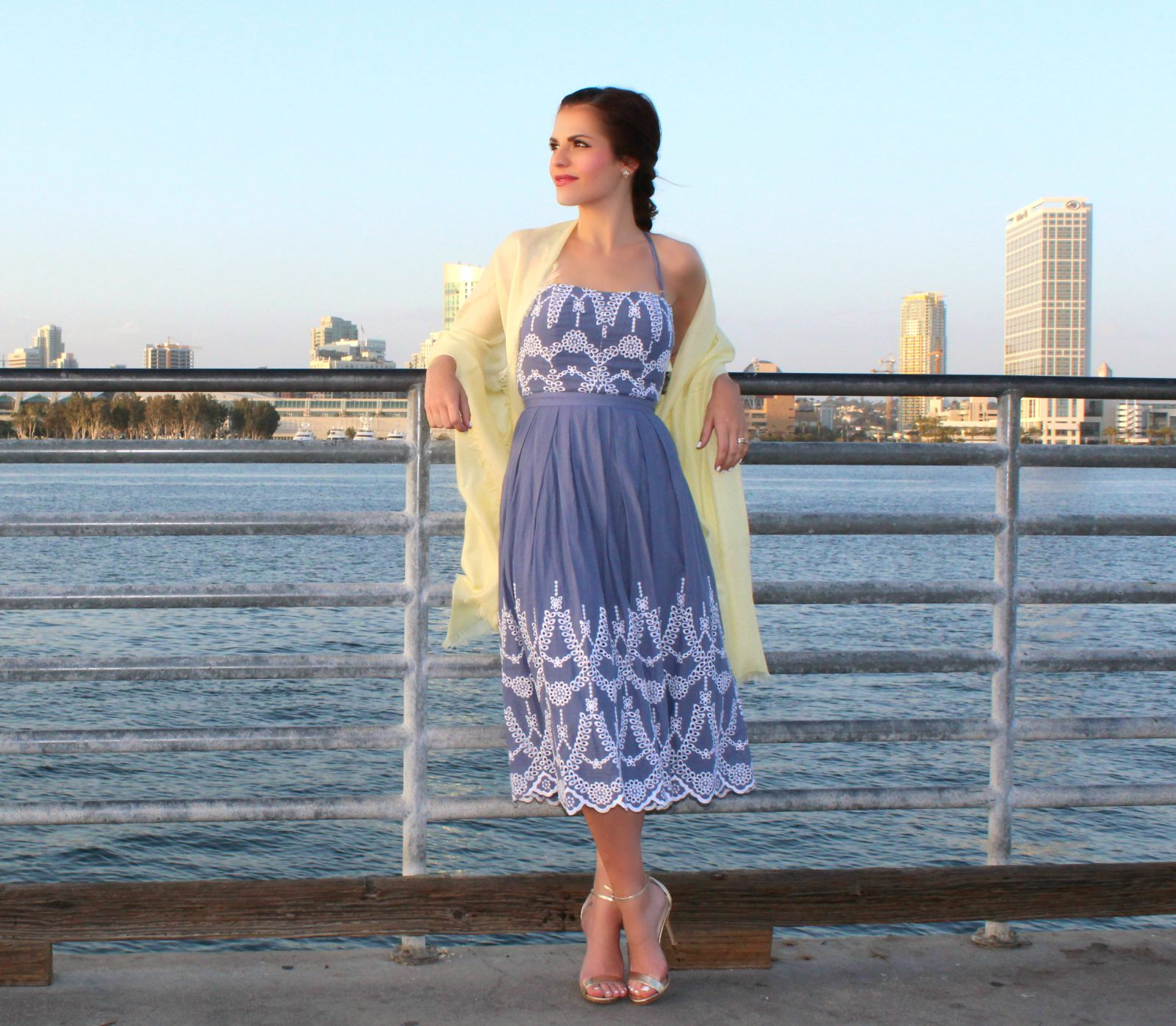 2bf0238a8ce Sophisticated Sundress  Attire for a Wedding